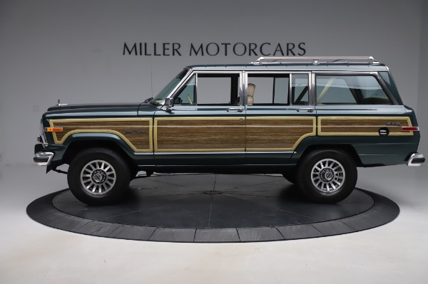 Used 1991 Jeep Grand Wagoneer for sale Call for price at Aston Martin of Greenwich in Greenwich CT 06830 3