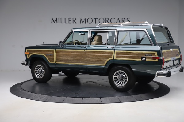 Used 1991 Jeep Grand Wagoneer for sale Call for price at Aston Martin of Greenwich in Greenwich CT 06830 4