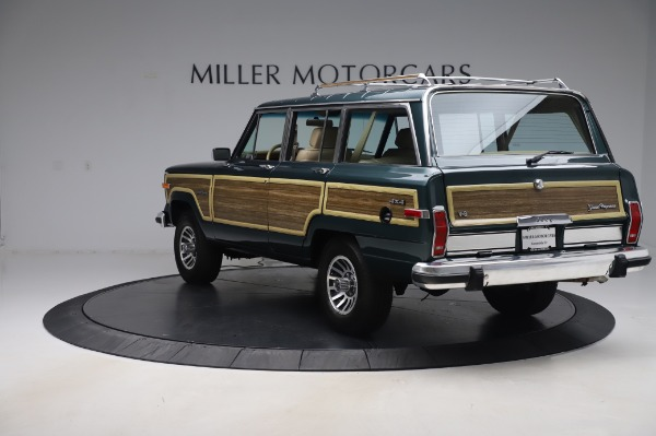 Used 1991 Jeep Grand Wagoneer for sale Call for price at Aston Martin of Greenwich in Greenwich CT 06830 5