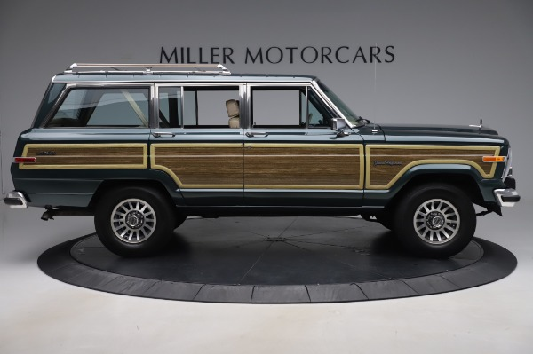 Used 1991 Jeep Grand Wagoneer for sale Call for price at Aston Martin of Greenwich in Greenwich CT 06830 9