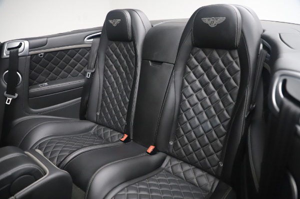 Used 2016 Bentley Continental GTC Speed for sale $149,900 at Aston Martin of Greenwich in Greenwich CT 06830 21