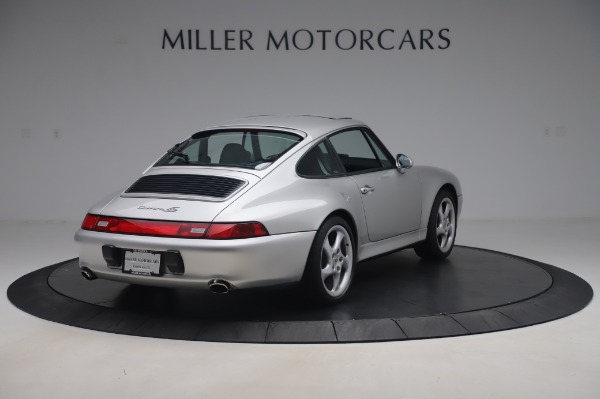 Used 1998 Porsche 911 Carrera 4S for sale Sold at Aston Martin of Greenwich in Greenwich CT 06830 6