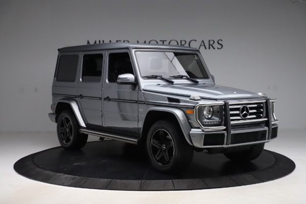 Used 2017 Mercedes-Benz G-Class G 550 for sale $86,900 at Aston Martin of Greenwich in Greenwich CT 06830 11