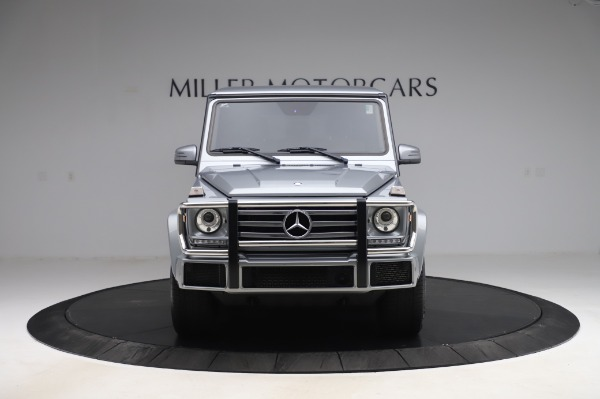 Used 2017 Mercedes-Benz G-Class G 550 for sale $86,900 at Aston Martin of Greenwich in Greenwich CT 06830 12
