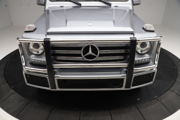 Used 2017 Mercedes-Benz G-Class G 550 for sale $86,900 at Aston Martin of Greenwich in Greenwich CT 06830 13