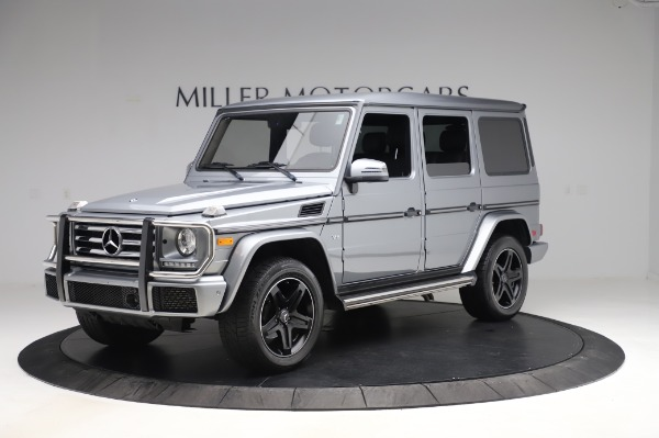 Used 2017 Mercedes-Benz G-Class G 550 for sale $86,900 at Aston Martin of Greenwich in Greenwich CT 06830 2