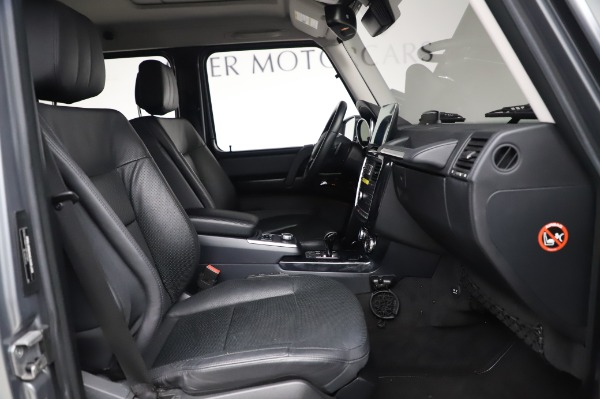 Used 2017 Mercedes-Benz G-Class G 550 for sale $86,900 at Aston Martin of Greenwich in Greenwich CT 06830 20