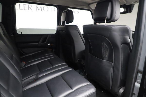 Used 2017 Mercedes-Benz G-Class G 550 for sale $86,900 at Aston Martin of Greenwich in Greenwich CT 06830 22
