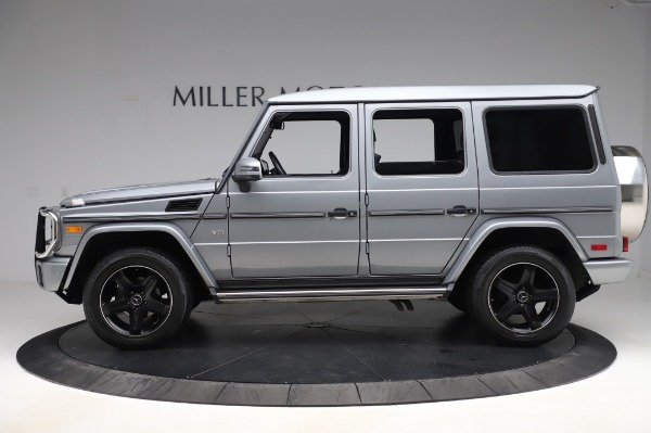 Used 2017 Mercedes-Benz G-Class G 550 for sale $86,900 at Aston Martin of Greenwich in Greenwich CT 06830 3