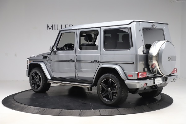 Used 2017 Mercedes-Benz G-Class G 550 for sale $86,900 at Aston Martin of Greenwich in Greenwich CT 06830 5