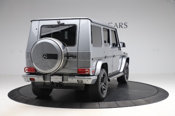 Used 2017 Mercedes-Benz G-Class G 550 for sale $86,900 at Aston Martin of Greenwich in Greenwich CT 06830 7