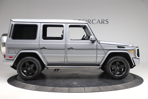 Used 2017 Mercedes-Benz G-Class G 550 for sale $86,900 at Aston Martin of Greenwich in Greenwich CT 06830 9