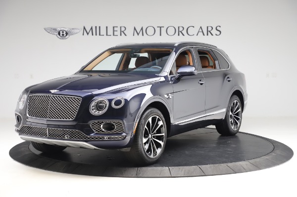 Used 2018 Bentley Bentayga W12 Signature Edition for sale Call for price at Aston Martin of Greenwich in Greenwich CT 06830 1