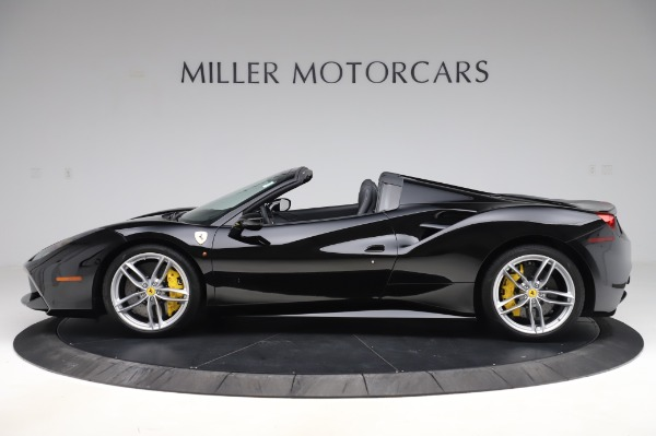 Used 2017 Ferrari 488 Spider for sale $284,900 at Aston Martin of Greenwich in Greenwich CT 06830 3