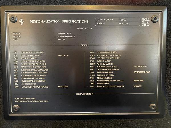 Used 2016 Ferrari 488 GTB Base for sale $239,900 at Aston Martin of Greenwich in Greenwich CT 06830 28