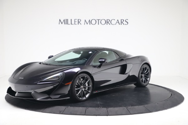 Used 2019 McLaren 570S Spider for sale $186,900 at Aston Martin of Greenwich in Greenwich CT 06830 10