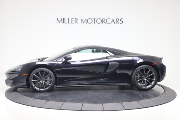 Used 2019 McLaren 570S Spider Convertible for sale $189,900 at Aston Martin of Greenwich in Greenwich CT 06830 11