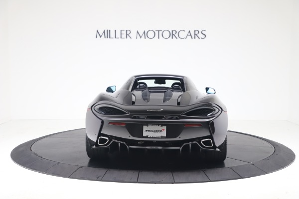 Used 2019 McLaren 570S Spider for sale $186,900 at Aston Martin of Greenwich in Greenwich CT 06830 13