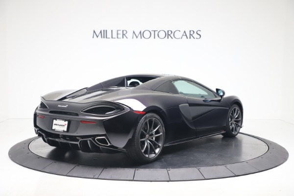 Used 2019 McLaren 570S Spider for sale $186,900 at Aston Martin of Greenwich in Greenwich CT 06830 14