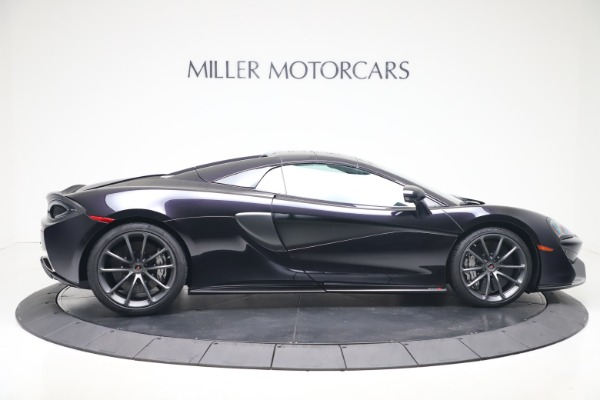 Used 2019 McLaren 570S Spider Convertible for sale $189,900 at Aston Martin of Greenwich in Greenwich CT 06830 15