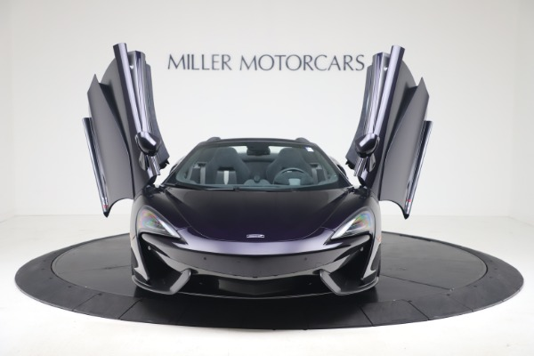 Used 2019 McLaren 570S Spider for sale $186,900 at Aston Martin of Greenwich in Greenwich CT 06830 17
