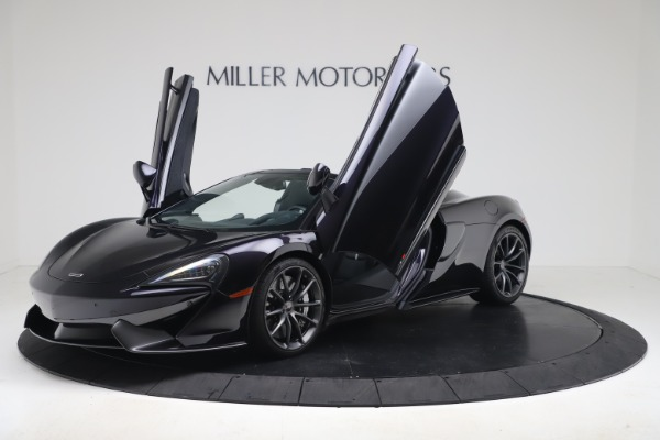 Used 2019 McLaren 570S Spider for sale $186,900 at Aston Martin of Greenwich in Greenwich CT 06830 18
