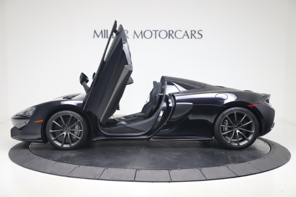Used 2019 McLaren 570S Spider for sale $186,900 at Aston Martin of Greenwich in Greenwich CT 06830 19