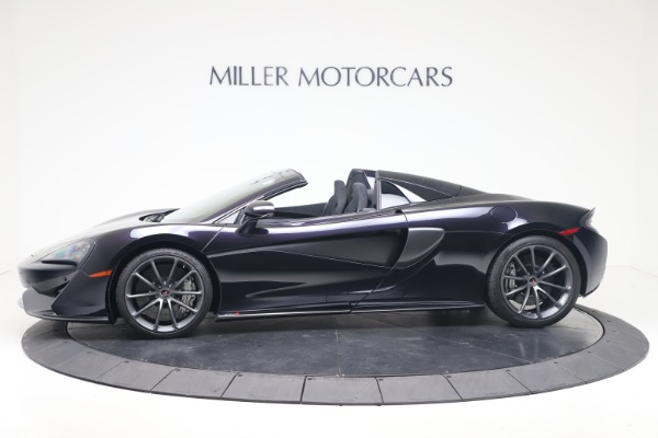 Used 2019 McLaren 570S Spider Convertible for sale $189,900 at Aston Martin of Greenwich in Greenwich CT 06830 2