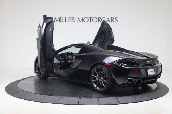 Used 2019 McLaren 570S Spider Convertible for sale $189,900 at Aston Martin of Greenwich in Greenwich CT 06830 20