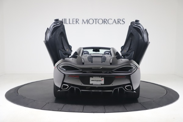 Used 2019 McLaren 570S Spider Convertible for sale $189,900 at Aston Martin of Greenwich in Greenwich CT 06830 21