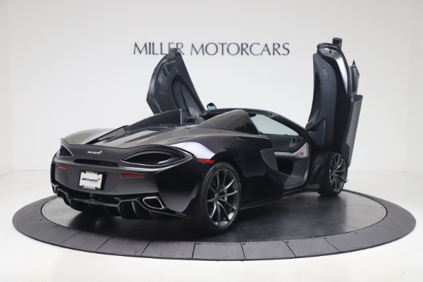 Used 2019 McLaren 570S Spider Convertible for sale $189,900 at Aston Martin of Greenwich in Greenwich CT 06830 22