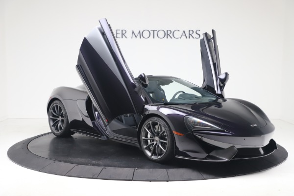 Used 2019 McLaren 570S Spider Convertible for sale $189,900 at Aston Martin of Greenwich in Greenwich CT 06830 24