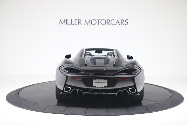 Used 2019 McLaren 570S Spider Convertible for sale $189,900 at Aston Martin of Greenwich in Greenwich CT 06830 4