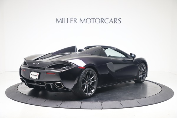 Used 2019 McLaren 570S Spider Convertible for sale $189,900 at Aston Martin of Greenwich in Greenwich CT 06830 5