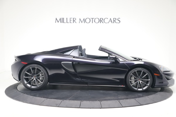 Used 2019 McLaren 570S Spider Convertible for sale $189,900 at Aston Martin of Greenwich in Greenwich CT 06830 6