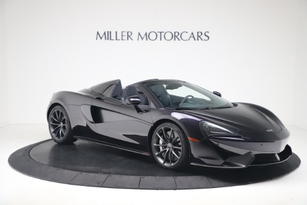 Used 2019 McLaren 570S Spider Convertible for sale $189,900 at Aston Martin of Greenwich in Greenwich CT 06830 7