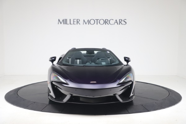 Used 2019 McLaren 570S Spider Convertible for sale $189,900 at Aston Martin of Greenwich in Greenwich CT 06830 8