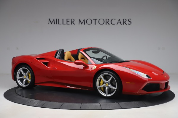 Used 2018 Ferrari 488 Spider Base for sale $289,900 at Aston Martin of Greenwich in Greenwich CT 06830 10