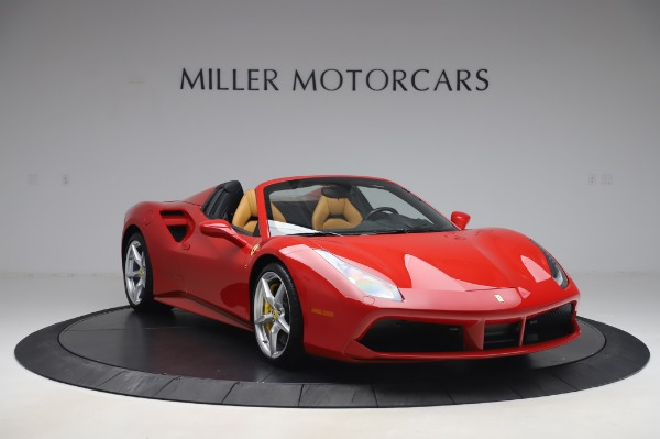 Used 2018 Ferrari 488 Spider Base for sale $289,900 at Aston Martin of Greenwich in Greenwich CT 06830 11