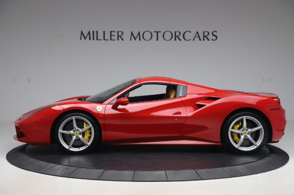 Used 2018 Ferrari 488 Spider Base for sale $289,900 at Aston Martin of Greenwich in Greenwich CT 06830 13