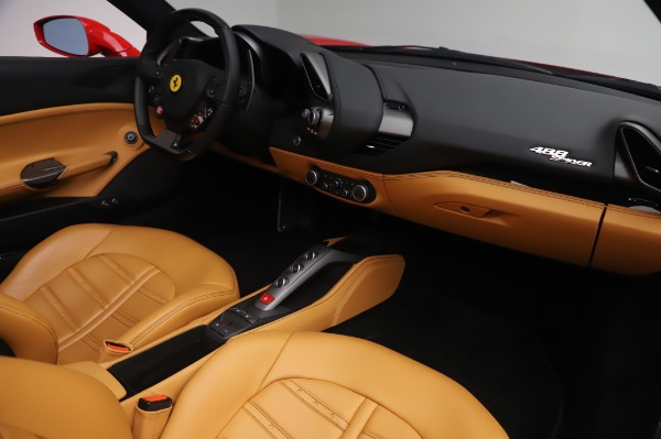 Used 2018 Ferrari 488 Spider Base for sale $289,900 at Aston Martin of Greenwich in Greenwich CT 06830 23