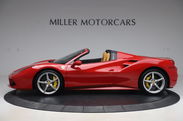 Used 2018 Ferrari 488 Spider Base for sale $289,900 at Aston Martin of Greenwich in Greenwich CT 06830 3