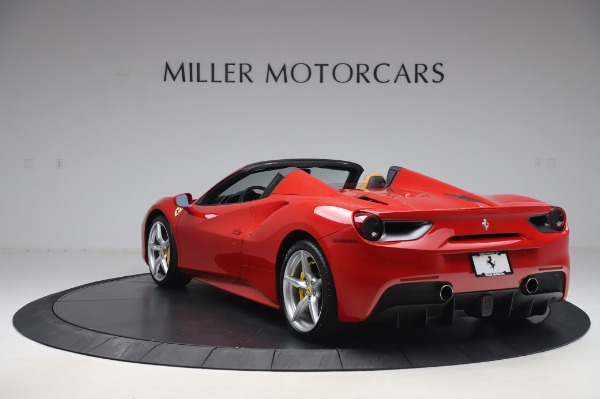 Used 2018 Ferrari 488 Spider Base for sale $289,900 at Aston Martin of Greenwich in Greenwich CT 06830 5