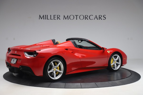 Used 2018 Ferrari 488 Spider Base for sale $289,900 at Aston Martin of Greenwich in Greenwich CT 06830 8