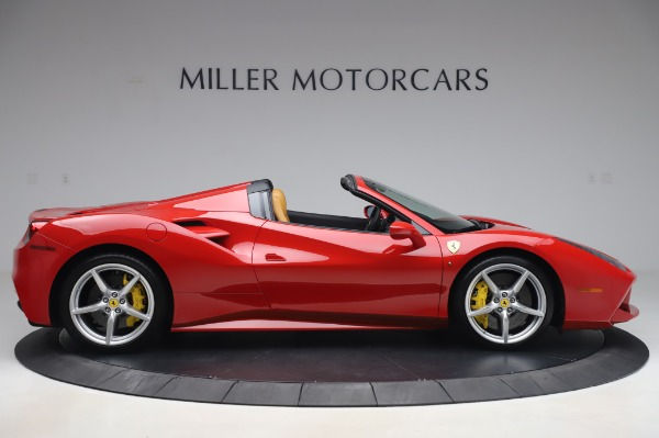 Used 2018 Ferrari 488 Spider Base for sale $289,900 at Aston Martin of Greenwich in Greenwich CT 06830 9