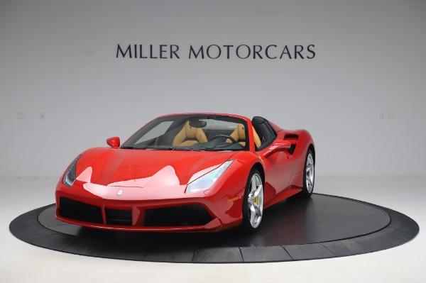Used 2018 Ferrari 488 Spider Base for sale $289,900 at Aston Martin of Greenwich in Greenwich CT 06830 1