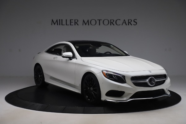 Used 2015 Mercedes-Benz S-Class S 550 4MATIC for sale Sold at Aston Martin of Greenwich in Greenwich CT 06830 11