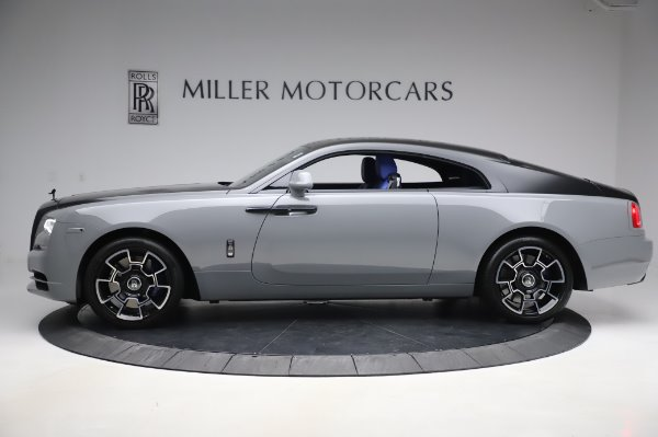 Used 2017 Rolls-Royce Wraith Black Badge for sale $269,900 at Aston Martin of Greenwich in Greenwich CT 06830 4