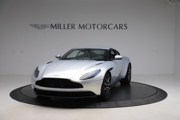 Used 2018 Aston Martin DB11 V8 Coupe for sale Sold at Aston Martin of Greenwich in Greenwich CT 06830 12