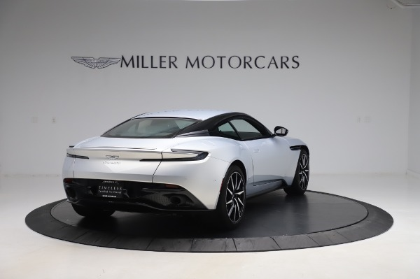 Used 2018 Aston Martin DB11 V8 Coupe for sale Sold at Aston Martin of Greenwich in Greenwich CT 06830 6